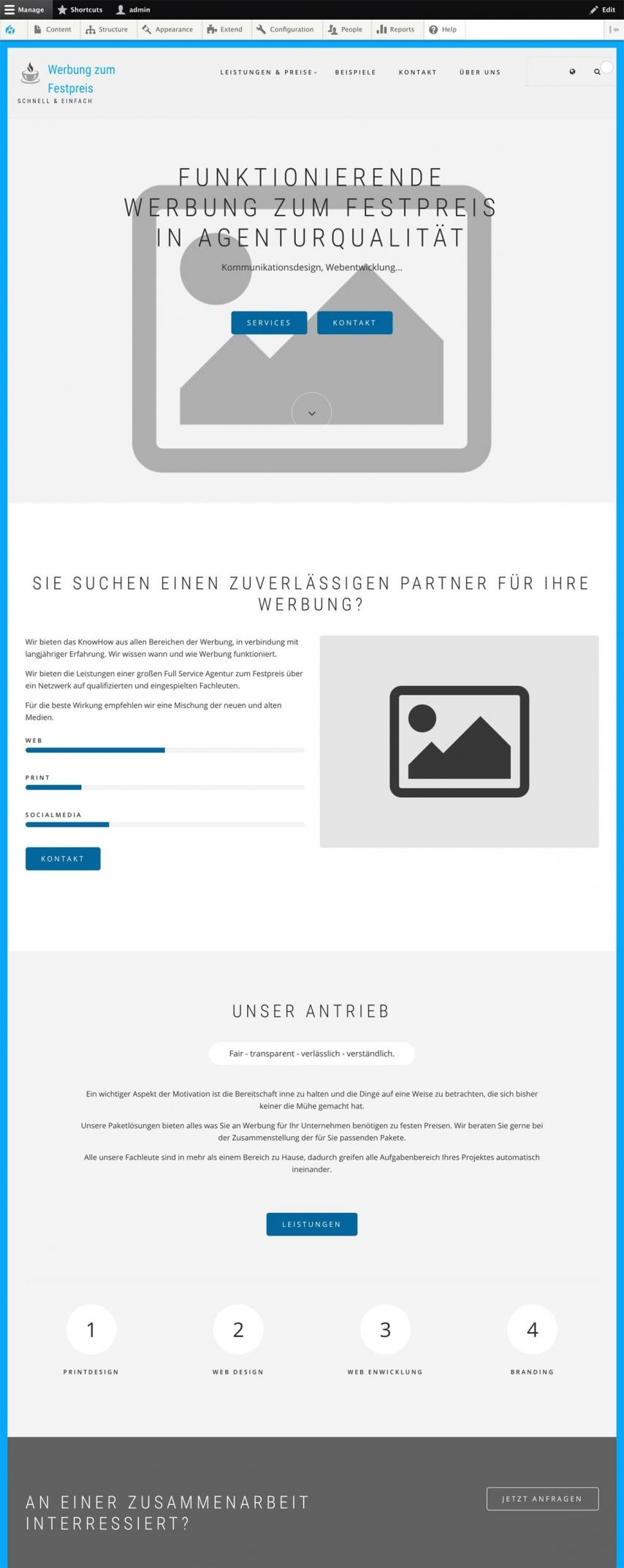 Agentur Website Drupal SEO