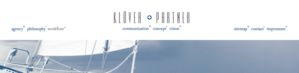 Klüver+Partner Website Relaunch