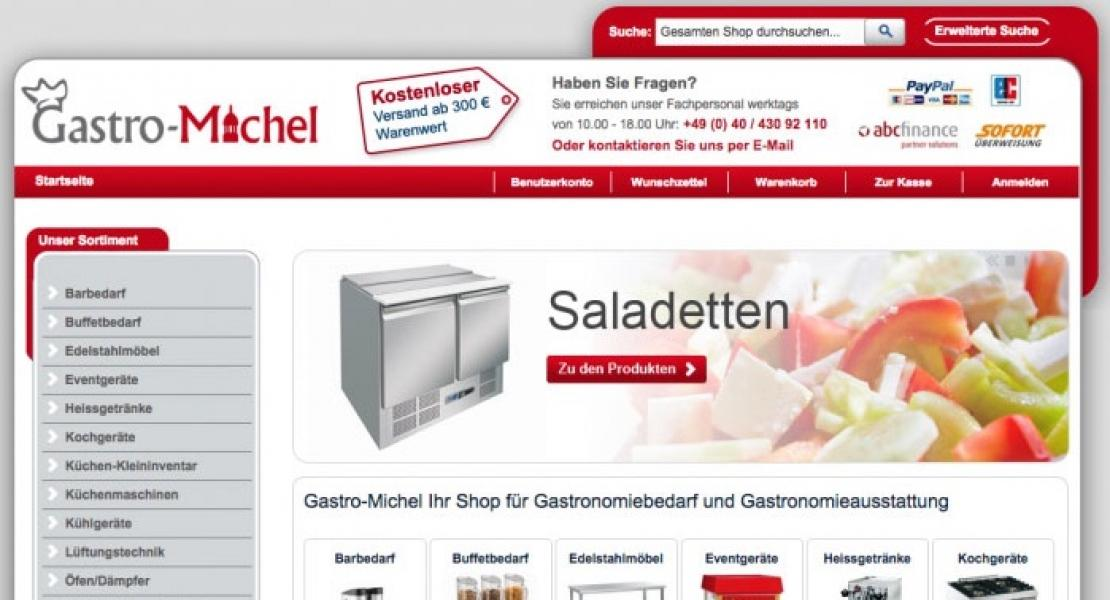 Gastronomieshop Online-Marketing Beratung