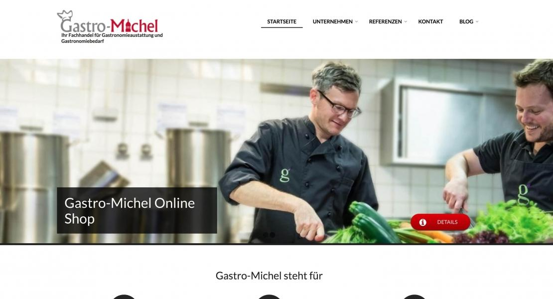 Gastro-Michel Business Website