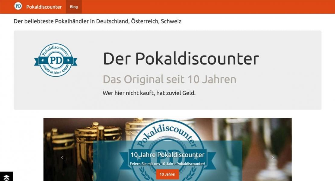 Pokaldiscounter Blog